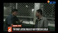 Pemuda ini terbukti memesan paket ganja dari Sumatera Utara seberat lebih dari 1 kilogram yang dikirimkan ke rumah ibunya di Jalan Mliwis, Semarang.