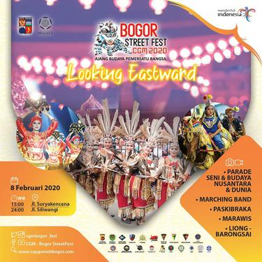 Pesta Sehari Bogor Street Festival CGM 2020 Bertabur Ragam Kemeriahan
