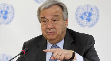 Sekretaris Jendral PBB, Antonio Guterres (AP)
