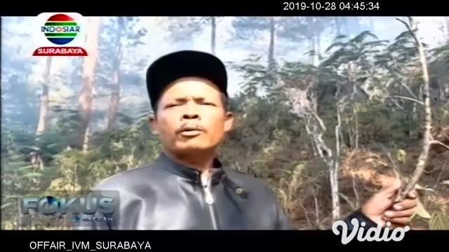 Kebakaran hutan dan lahan (karhutla) di Gunung Semeru, Kabupaten Lumajang, Jawa Timur, belum bisa dipadamkan karena angin bertiup kencang. Debu dan asap karhutla pun membuat aktivitas warga terganggu.