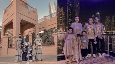 Momen Lebaran Keluarga Anang Hermansyah di Dubai, Penuh Kehangatan