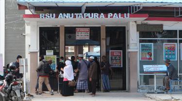 pintu masuk RSUD Anutapura Palu