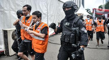 FOTO: Polisi Gagalkan Penyelundupan 1,1 Ton Sabu Jaringan Timur Tengah