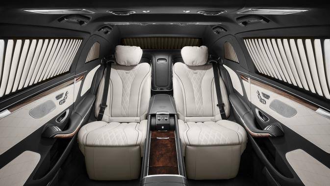 Interior mobil Kim Jong Un. Dok: Mercedes-Benz via Business Insider