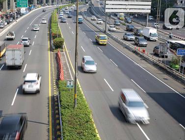 Volume Lalu Lintas di Tol Turun 40 Persen Selama PPKM Darurat