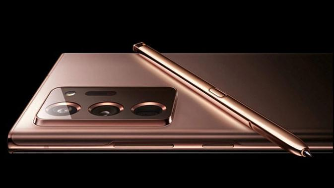 Bocoran gambar Galaxy Note 20 Ultra. (Doc: Samsung Ukraine)