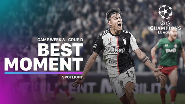 Berita Video Momen Terbaik Matchday 3 Liga Champions Grup D, Juventus Comeback
