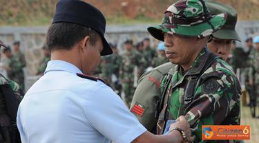 Citizen6, Bogor: Sedangkan 167 personel Kontingen Garuda XXXII-B/MINUSTAH dipimpin oleh Komandan Satgas Mayor Czi Irfan Siddiq yang sehari-harinya menjabat sebagai Danyon Zipur 9/1 Kostrad. (Pengirim: Badarudin Bakri).