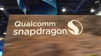Logo Qualcomm Snapdragon di CES 2017. Liputan6.com/Corry Anestia