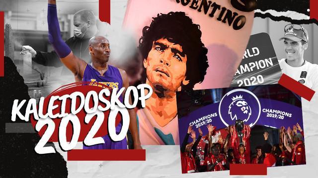 Berita Video Kaleidoskop Olahraga 2020, Liverpool Juara Hingga Meninggalnya Kobe Bryant dan Diego Maradona