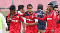 Semen Padang. (Bola.com/Nicklas Hanoatubun)