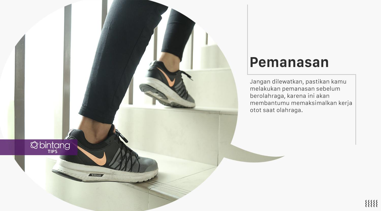 Lakukan ini sebelum berolahraga. (Foto: Daniel Kampua, Digital Imaging: M. Iqbal Nurfajri/Bintang.com)