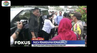 TKN Jokowi-Ma'ruf Amin berencana akan mengganti Romahurmuziy dari posisi dewan pengawas setelah OTT KPK.