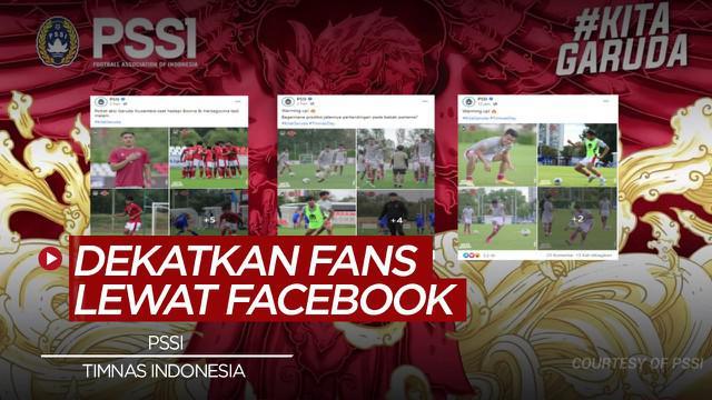 Berita Video PSSI bawa penggemar lebih dekat dengan Timnas Indonesia melalui Facebook