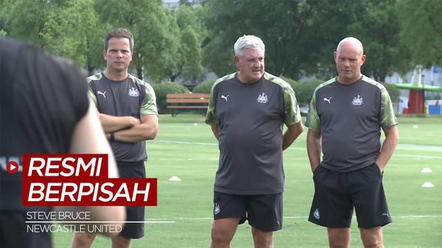 Berita Video, Steve Bruce Resmi Berpisah dengan Newcastle United