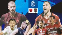 BRI Liga 1 - Duel Antarlini - PSM Makassar Vs Bali United (Bola.com/Adreanus Titus)