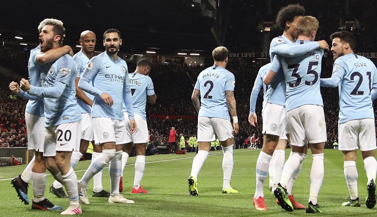 FOTO Permalukan Manchester United Manchester City Puncaki