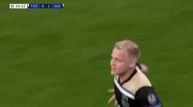 Berita video highlights semifinal leg pertama Liga Champions 2018-2019 antara Tottenham Hotspur melawan Ajax yang berakhir dengan skor 0-1 di London, Selasa (30/4/2019).