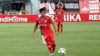 Eks kapten Persis Solo, M. Wahyu Fitrianto, gabung PSIS. (Bola.com/Ronald Seger Prabowo)
