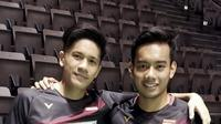 Ganda putra Indonesia, Pramudya Kusumawardana/Yeremia Erich Yoche Yacob Rambitan. (PBSI)