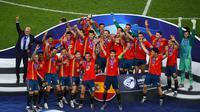 Timnas Spanyol Juara Piala Eropa U-21 (Dok UEFA)