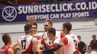 Tim putra Surabaya Bhayangkara Samator di Proliga 2020. (foto: PBVSI)
