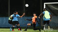 Pelatih Shin Tae-yong mengaku, pihaknya memberikan latihan taktik dan strategi agar Timnas Indonesia bisa meredam permaian Chinese Taipei. (dok. PSSI)