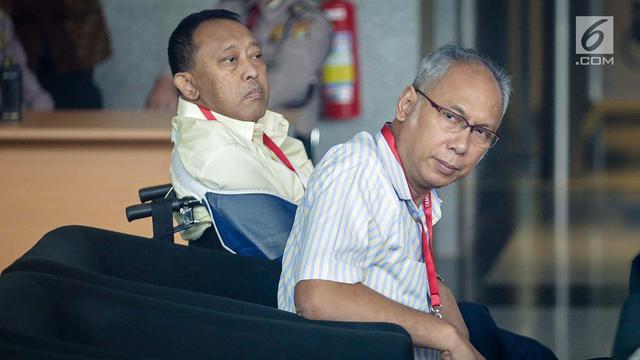 Foto Ditetapkan Sebagai Tersangka Dokter Bimanesh Sutarjo Sambangi Kpk