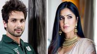 """Penggemar mendadak dihebohkan dengan cuitan Shahid kapoor berbunyi, """"aku cinta kepadamu, Katrina Kaif."""" (RexShuttershtock/ZeeNews)"""