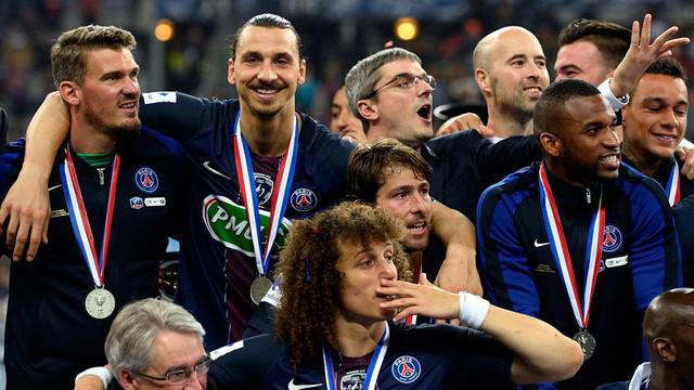 Video highlights final Coupe de France antara Olympique Marseille melawan PSG yang berakhir dengan skor 1-2 di Stade de France, Saint-Denis.