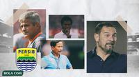 Kolase - Arcan Iurie, Dejan Antonic, Djadjang Nurdjaman, Jaya Hartono (Bola.com/Adreanus Titus)