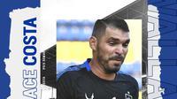 PSIS Semarang - Wallace Costa (Bola.com/Adreanus Titus)