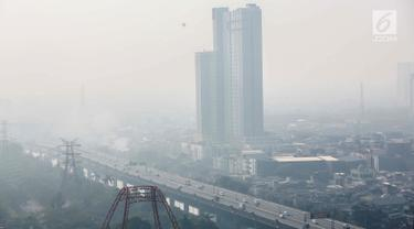 Terburuk di Dunia, Begini Penampakan Udara di Langit Jakarta