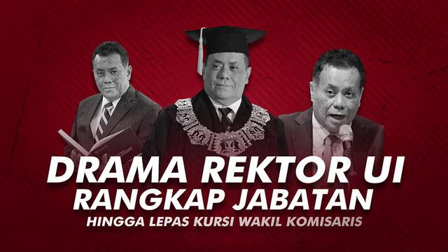 Rektor Universitas Indonesia, Ari Kuncoro akhirnya mundur dari jabatan Wakil Komisaris Utama PT Bank Rakyat Indonesia Tbk.
