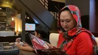 Sebelum meninggal dunia, ternyata Lina sempat bertemu dengan anak-anaknya, Rizky Febian, Putri Delina, Rizwan dan Ferdinan Ardiansyach di Bandung, beberapa waktu lalu. (YouTube @Putri Delina)