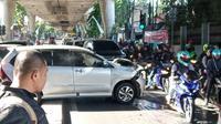 Tabrakan beruntun di Jalan Antasari, Jakarta Selatan. (Sumber: Twitter @TMCPoldaMetro)