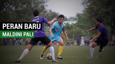 Pemain anyar Bhayangkara FC, Maldini Pali memiliki tugas baru bersama The Guardian.