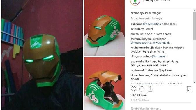 hem iron man (foto: instagram/@dramaojol.id)