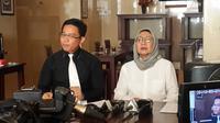 Ratna Sarumpaet memberikan konfrensi pers terkait somasi ke Dinas Perhubunagn DKI