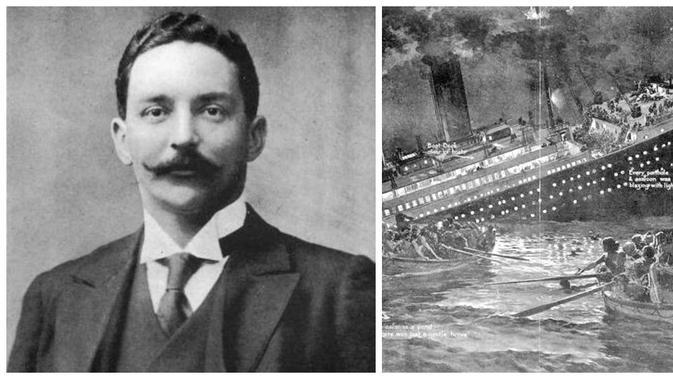 Bruce Ismay, korban selamat Titanic (Wikipedia)