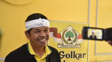 Ketua DPD Golkar Jawa Barat Dedi Mulyadi. (Liputan6.com/Abramena)