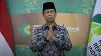 Menkes Budi Gunadi dalam pesan videonya terkait Hari Raya Idul Fitri tahun 2021 (Tangkapan Layar Youtube Kementerian Kesehatan)