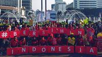 Alfamart mengajak masyarakat untuk sadar bahaya plastik sekali pakai terhadap lingkungan melalui gerakan 'Bersihin Indonesia'.