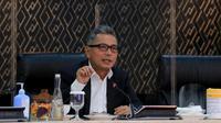 Direktur Utama BRI, Sunarso memaparkan sejumlah langkah dan peran BRI dalam upaya penyelamatan usaha mikro, kecil, dan menengah (UMKM) di Indonesia.