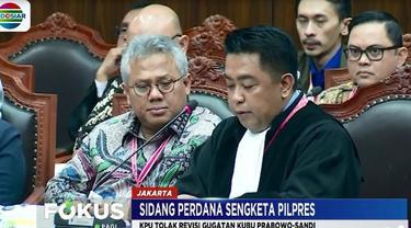 Menurut Arief, pengajuan revisi gugatan tidak diatur dalam acara MK. Sehingga tidak sesuai dengan hukum yang berlaku.