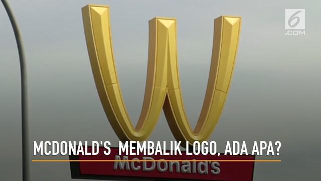 McDonald's membalik logonya untuk memperingati hari perempuan internasional