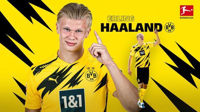 Berita Video Deretan Gol Berkelas dari Bintang Borussia Dortmund, Erling Haaland di Bundesliga