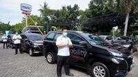 Toyota Sumbangkan Avanza Untuk Bawa Spesimen Pasien Covid-19 (Ist)