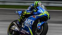 Andrea Iannone gagal pertahankan momentum bagus di MotoGP Malaysia (AFP/Mohd Rafsan)