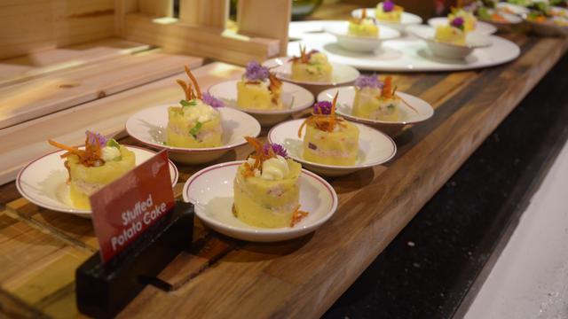 Kuliner otentik Peru di hotel Gran Melia Jakarta
